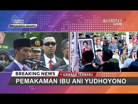 Kala Presiden Jokowi Kenang Jasa dan Pengabdian Ani Yudhoyono...