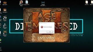 Age of empires 3 FEHLER beim starten BEHOBEN