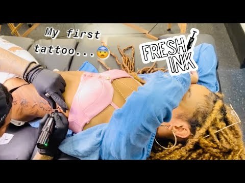 Download MY FIRST TATTOO...on my ribs!!😩
