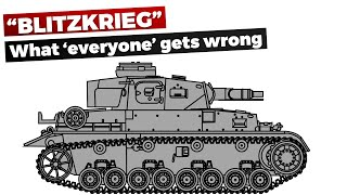 """Blitzkrieg"" - What most people get Wrong - Myth vs ""Reality"""