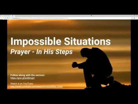 Impossible Situations - Greg Sergent