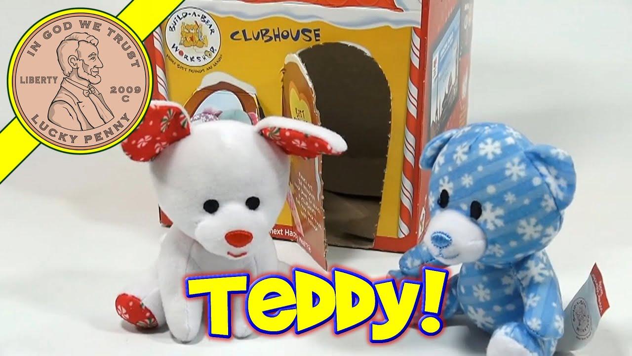Build A Bear Winter Wonder Teddy Pup Mcdonald S Happy