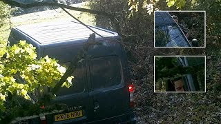 Can you identify this fly-tipper caught on camera in Daventry District?