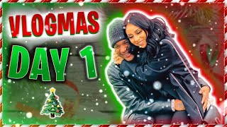OUR FIRST VLOGMAS AS A FAMILY !! FIRST VIDEO SINCE OUR GENDER REVEAL!! ARE WE HAPPY ?*VLOGMAS DAY 1*