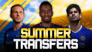 SUMMER TRANSFERS! w/ EVERTON SIGN SIGURDSSON FOR £45M & COSTA STATEMENT! - FIFA 18 ULTIMATE TEAM