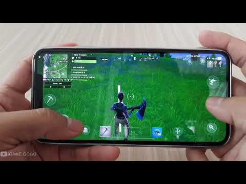 IPhone XS Max Test Game Fortnite Mobile