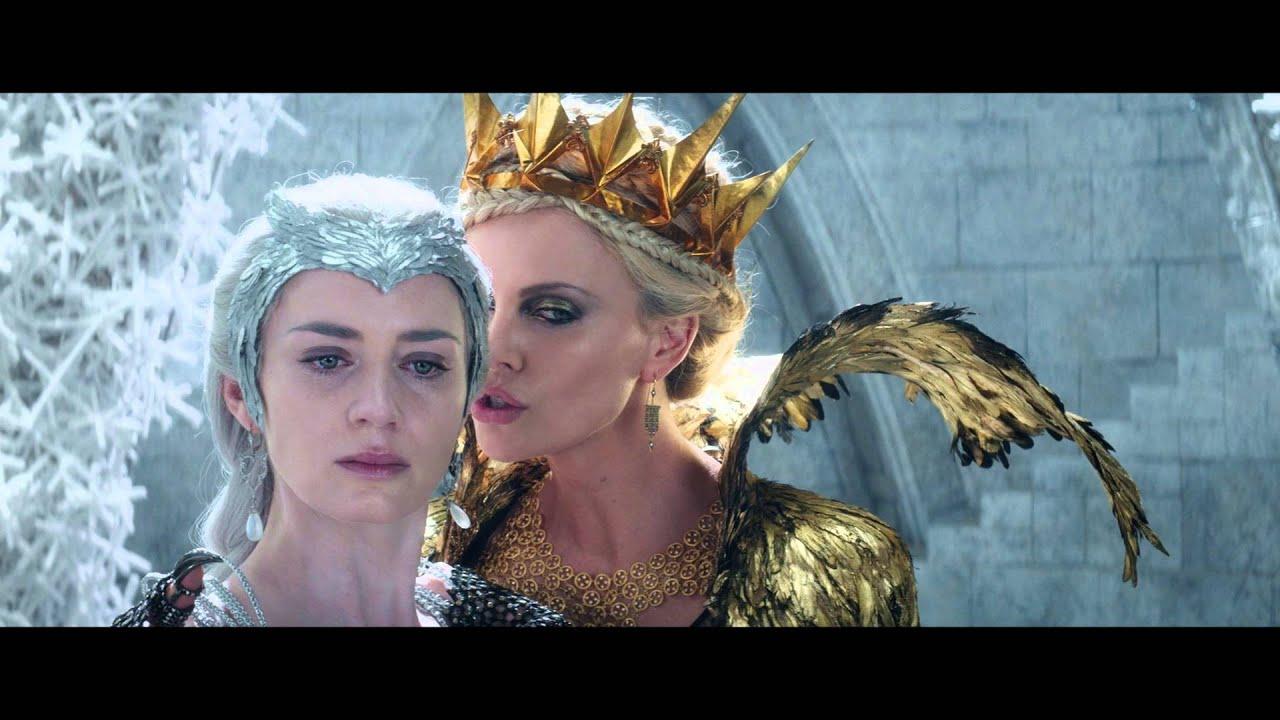 Le Chasseur Et La Reine Des Glaces Bande Annonce Officielle Vf Au Cinema Le 20 Avril 2016 Youtube