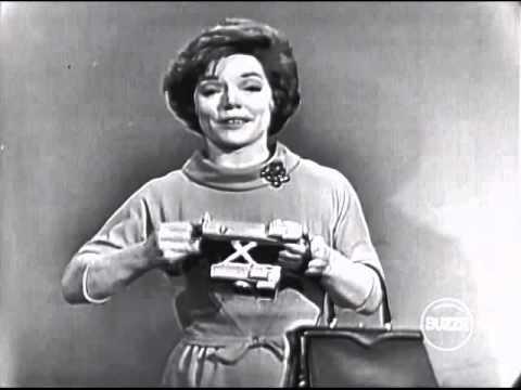 """Polaroid commercial with Denise Lor, live on """"I've Got a Secret"""" (November 13, 1961)"""