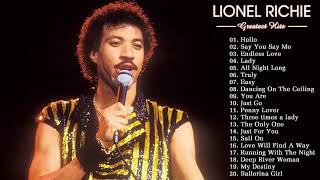 Lionel Richie Greatest Hits (full album)- Hello -  Best Songs Of Lionel Richie