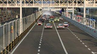 (東望洋賽道)RaceRoom Macau Circuit Gameplay