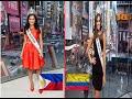 Miss Universe 2015 vs Miss Universe 2014 - Pia Alonzo Wurtzbach / Paulina Vega