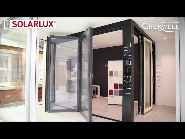 Solarlux HIGHLINE Bifold door