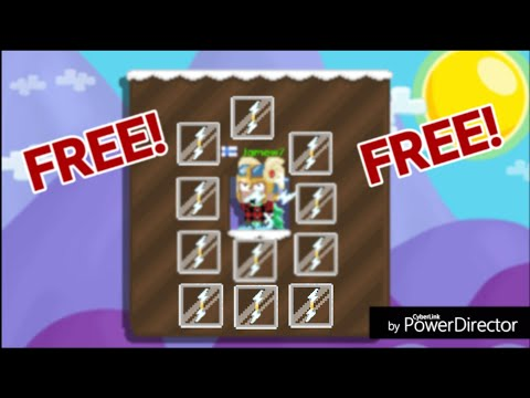 Growtopia - How To Get FREE Zeus Bolt! OMG