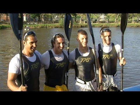 Race-Off Rowing (M4) vs Kayaking (K4) - Melbourne, Australia