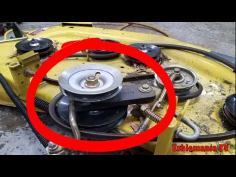 John Deere 48C 54C Double Pulley Repair X300 X500 Series Tractors