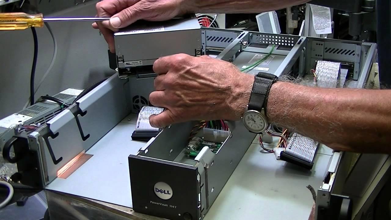 ibm lto 4 manual tape removal