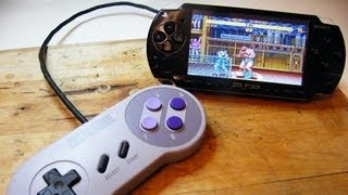 PSP Tutorial: How to play SNES on PSP | 1080p