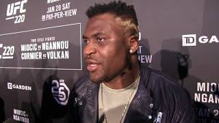 Ufc 220  Francis Ngannou I Can Break Heavyweight