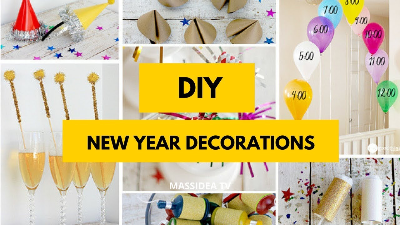 50 Best Diy New Year Decorations For Home Youtube