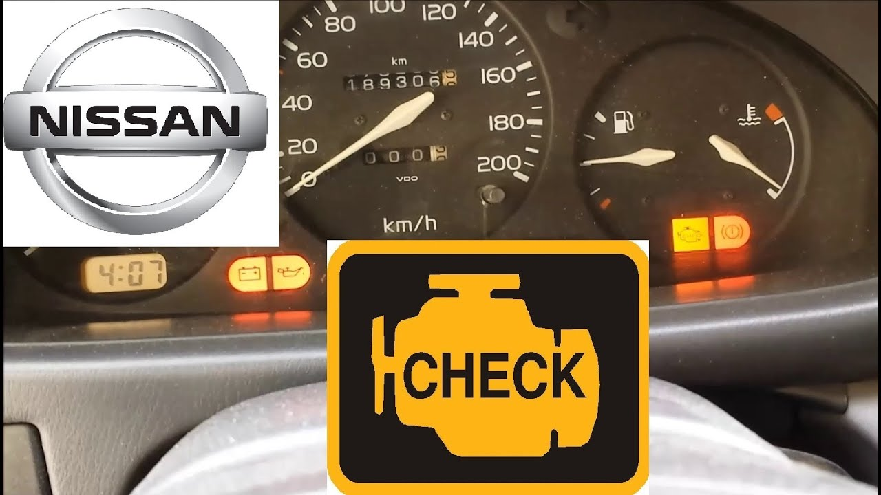 hight resolution of how to clear check engine light on nissan free and easy