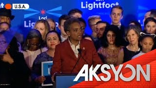 Unang black woman Mayor ng Chicago