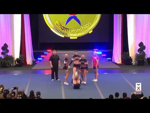 Team Norway AG Group Stunt - Cheer Worlds 2014