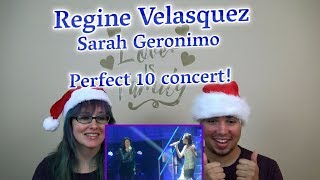 MOM & SON REACTION! Regine Velasquez and Sarah Geronimo  duet LIVE! [Perfect 10 concert]
