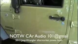 Video 2013 Jeep Wrangler with 5 power locks download MP3, 3GP, MP4, WEBM, AVI, FLV Juli 2018
