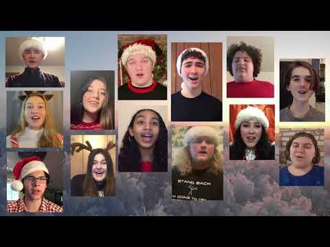 Jingle Bells sung by the Pacific Grove High School choir