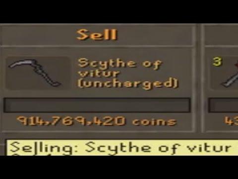 Scythe Of Vitur DISAPPEARED!?!