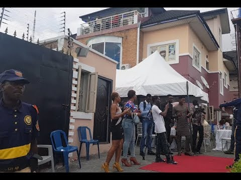 Checkout Iyabo Ojo's mighty multi million naira Abula Spot at Lekki Phase 1 as she mark it in style