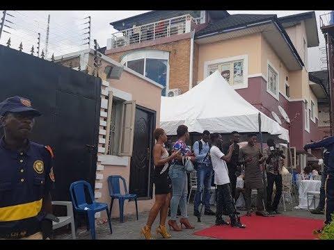 Checkout Iyabo Ojo's mighty multi million naira Abula Spot at Lekki Phase 1 as she mark it in style