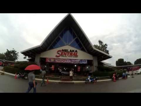 Melaka / Malacca Sentral to Bandar Tasik Selatan TBS Kuala Lumpur Bus Terminal