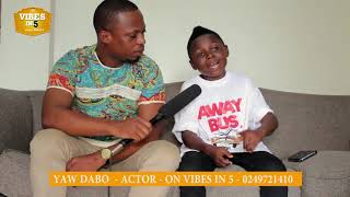 Woooow: Yaw Dabo reveals that some big men have offered to accept and take care of the child if...