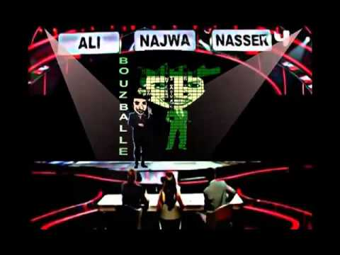 bouzebal f Final Arab Got Talent 2013