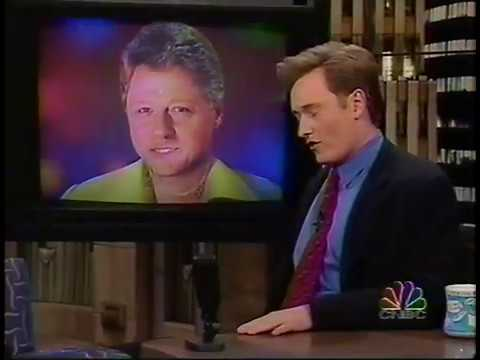 '96 Election Update With Bill Clinton and Bob Dole on Conan (1996-11-01) HQ