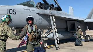 First All Female Flyover participating Captain Rosemary Mariner Funeral, U.S. Navy