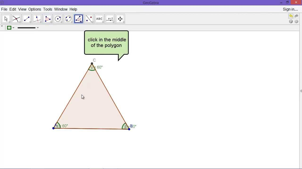 Equilateral Triangle Construction