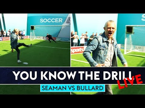 Bullard bangs in Top Bins! | David Seaman v Jimmy Bullard | Penalty Shootout | You Know The Drill