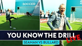 Bullard bangs in Top Bins! | David Seaman v Jimmy Bullard | Penalty Shootout | You Know The Drill