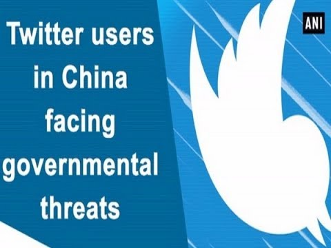 7a6281164 Twitter users in China facing governmental threats - YouTube