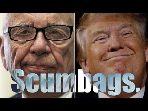 Trump & Rupert Murdoch Team Up to Kill the Internet
