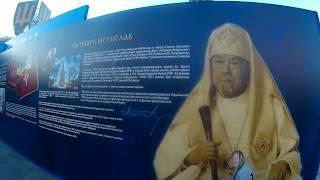 Ukrainain Kings & History at Independence Square, Kiev, Ukraine