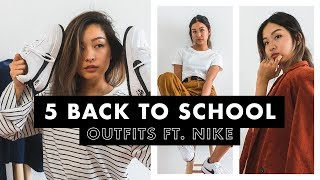 5 Back To School Outfits ft. Nike