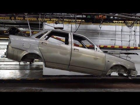Как собирают автомобиль на заводе видео