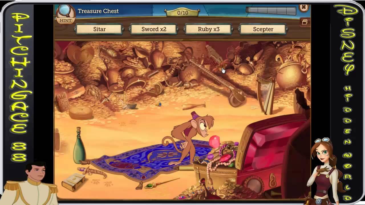 Disney Hidden Worlds Aladdin Treasure Chest Youtube