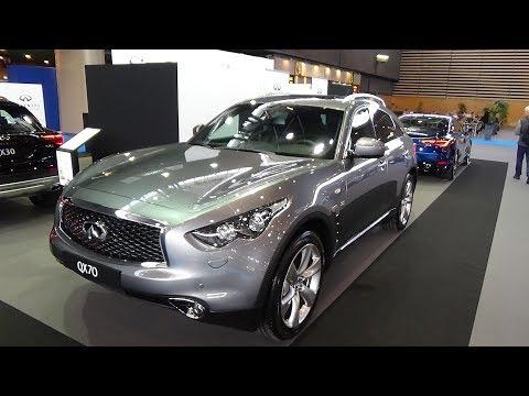 2018 Infiniti QX70 S Premium 4WD Exterior and Interior Salon Automobile Lyon 2017