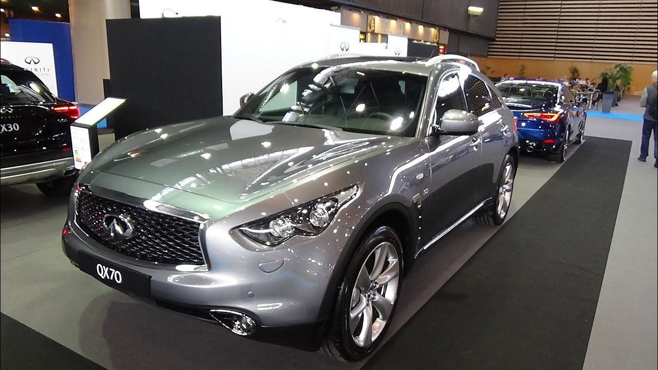 2018 infiniti qx70 s premium 4wd exterior and interior salon automobile lyon 2017 youtube. Black Bedroom Furniture Sets. Home Design Ideas