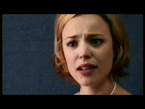 AUDITION TAPE: Rachel McAdams audition for The Notebook