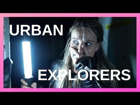 'Ik kom de engste dingen tegen' - URBAN EXPLORERS